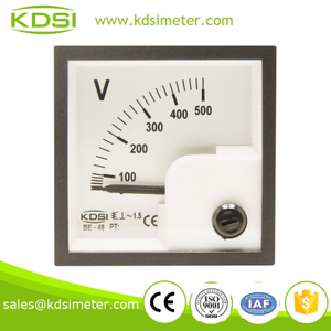 Mini type BE-48 AC Voltmeter AC500V panel voltmeter