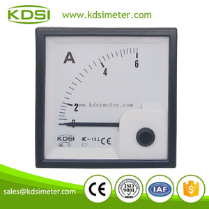 Instant flexible BE-72 AC6A no overload analog ac panel meter ammeter