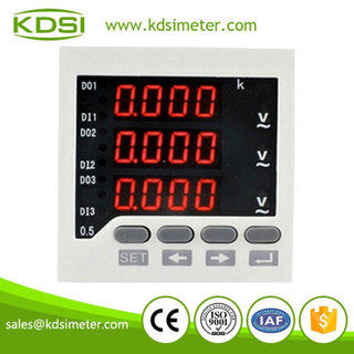 New Hot Sale Smart BE-80 80*80 3AV 0-500V digital voltmeter working