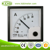 China Supplier BE-72 DC+-75mV+-30A analog panel dc ammeter with zero in center
