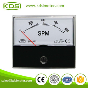 Industrial universal BP-670 DC10V 800SPM panel voltage analog spm meter