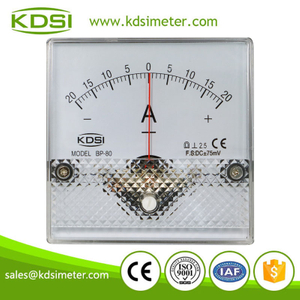 Classical BP-80 DC+-75mV+-20A need connect with shunt analog ampere meter zero in the center