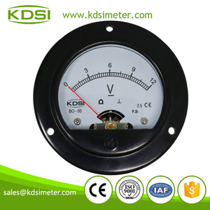 KDSI round type BO-65 DC12V panel analog battery indicator