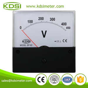 Square type welding machine meter BP-80 80*80 AC450V with rectifier panel analog voltage meter