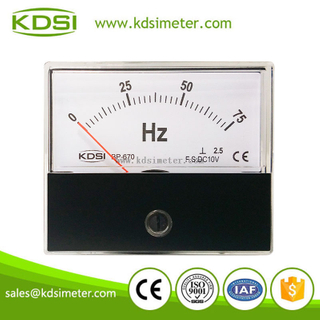 Hot Selling Good Quality BP-670 DC10V 75Hz voltage electrical frequency meter