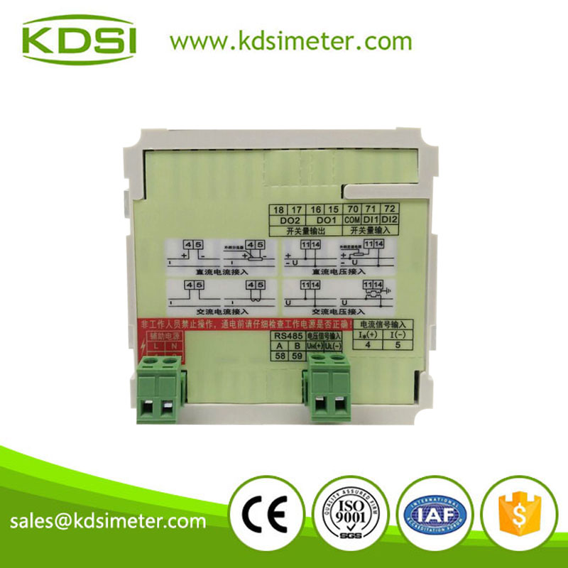 Economical BE-96 F 45-65Hz Digital intelligent single phase frequency meter