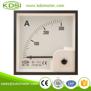 Factory direct sales BE-96 DC75mV 300A marine meter analog panel meter