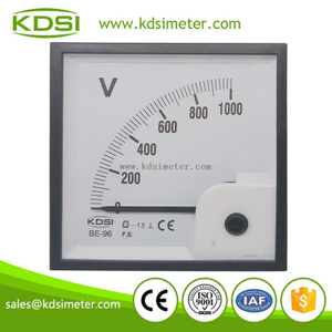 China Supplier BE-96 96 * 96 DC1000V dc voltmeter display
