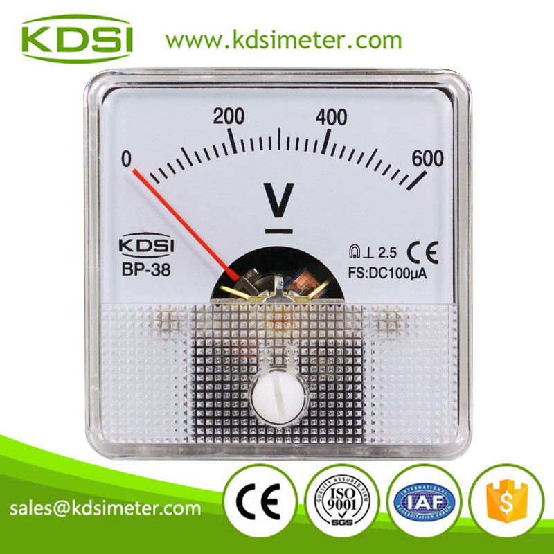 Factory direct sales mini BP-38 DC100uA 600V inputting current display voltage meter