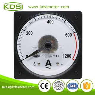 KDSI wide angle LS-110 AC600/5A 2times overload panel ampere meter for marine