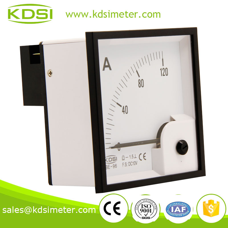 Portable precise BE-96 96*96 DC10V 120A current meter