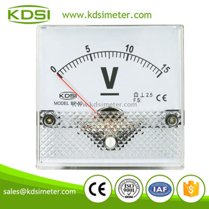 Original manufaturer Best Quality BP-80 DC15V analog dc panel voltmeter