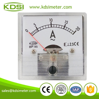 CE certificate BP-45 AC20A transparent cover panel ac analog ammeter