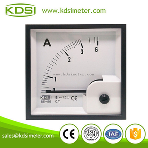 Taiwan technology BE-96 96*96 AC Ammeter AC3A panel analog ammeter