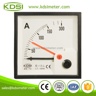 KDSI BE-72 AC150/5A ac double pointer analog ampere meter