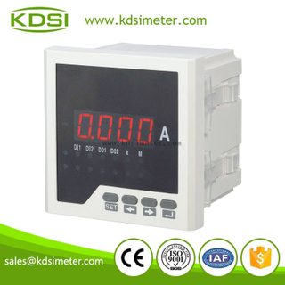 KDSI electronic apparatus 96*96 single phase BE-96 AA digital ac ammeter