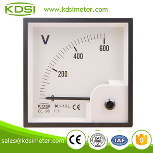 20 years Professional Manufacturer panel meter BE-96 AC600V with rectifier ac voltmeter
