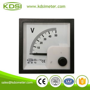 Portable precise BE-48 DC Voltmeter DC50V analog dc panel voltmeter