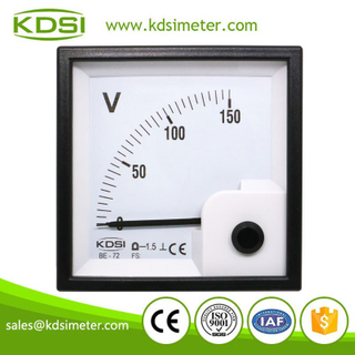 New Hot Sale Smart KDSI BE-72 DC150V electronic analog voltmeter