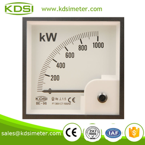 Easy operation BE-96 1000KW 380V 150 / 5A power meter