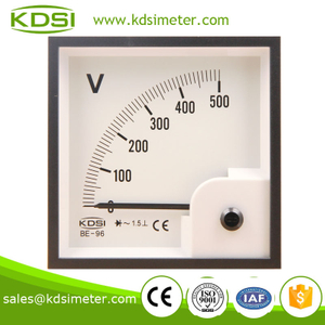 CE certificate BE-96 96*96 AC500V with rectifier generator voltmeter