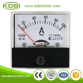 Hot Selling Good Quality BP-45 AC100/5A analog ac panel amp meters