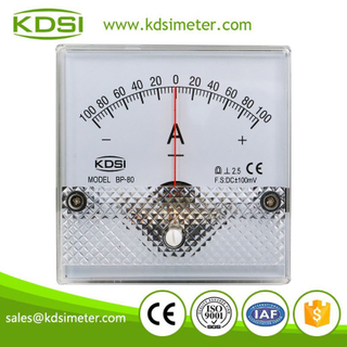 Original manufacturer high Quality BP-80 DC+-100mV+-100A analog dc ammeter for shunt