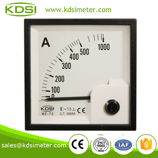 Easy operation BE-72 AC500 / 5A current meter