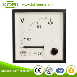 Small & high sensitivity BE-72 AC600V electronic voltmeter