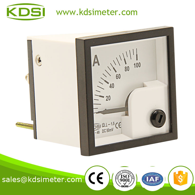 BE-48 DC Ammeter DC50mV 100A