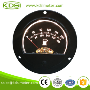 New Hot Sale Smart BO-52 DC5V Yellow backlighting analog output diesel fuel oil flow meter