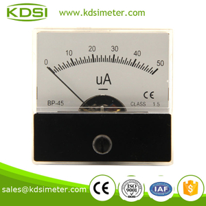 Easy operation BP-45 DC50uA panel current meter