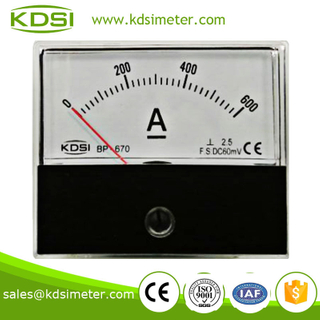 Easy installation BP-670 DC60mV 600A industrial ampere meter