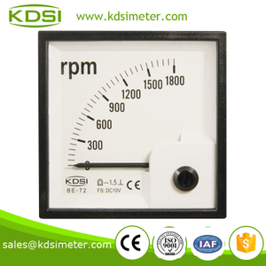Hot sales BE-72 DC10V 1800 rpm analog tachometer