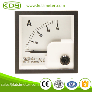 BE-48 DC Ammeter DC50mV 80A