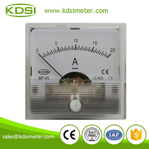 Taiwan technology BP-45 DC Ammeter DC20A panel ampere meter
