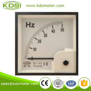 High quality BE-96 96 * 96 0-50HZ DC10V voltage frequency meter