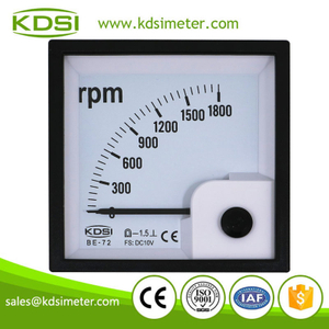 Industrial universal BE-72 DC10V 1800rpm analog tachometer engine rpm meter