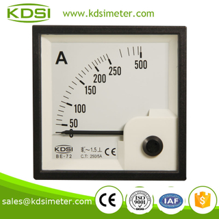 KDSI electronic apparatus BE-72 72*72 AC250/5A electric current meter