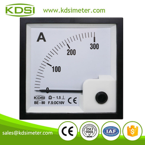Instant flexible BE-80 DC10V 300A voltage dc analog amp current panel meter