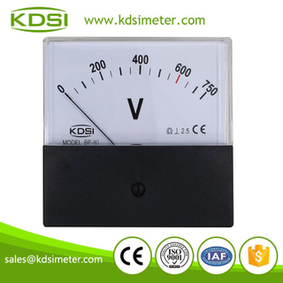 China Supplier BP-80 DC750V analog dc high voltage panel meter for welding machine