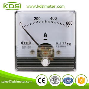 High quality professional BP-60N DC50mV 600A panel analog ammeter with output