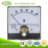CE Approved BP-60N DC100V panel analog voltage meter for welding machine