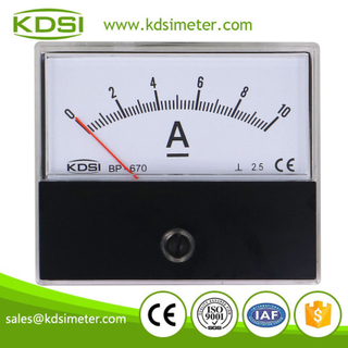 CE Approved BP-670 DC10A analog panel ammeter with output