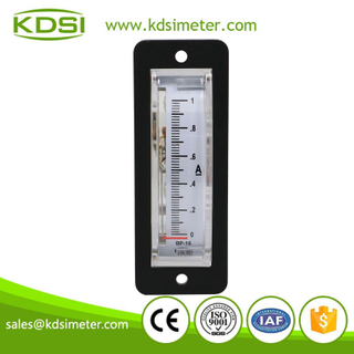 High quality professional BP-15 DC1A analog panel mini thin edgewise dc high precision ammeter