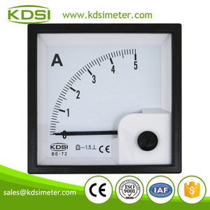 Hot Selling Good Quality BE-72 DC5A analog dc cnc operator panel ammeter
