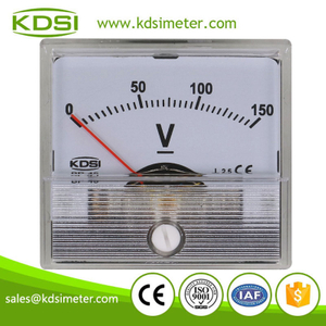 Small & high sensitivity BP-45 DC150V mini panel analog dc voltmeter