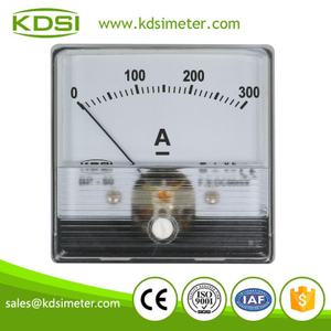 Instant flexible BP-60N DC60mV 300A panel analog ampere meter for welding machine