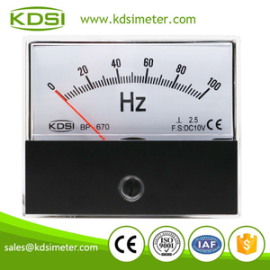 High quality BP-670 DC10V 100Hz mini voltage Hz electrical frequency meter
