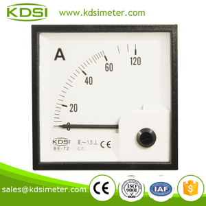 Industrial universal BE-72 72*72 AC60A automotive ammeter